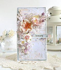 """Vintage Cafe Card Challenge: Тематическое задание """"In bloom"""""""