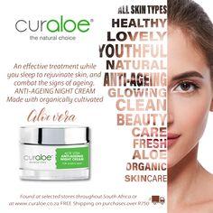 Aloe Vera skin & health care products from South Africa Aloe Vera Liquid, Aloe Vera For Skin, Organic Aloe Vera, Anti Aging Night Cream, Look Younger, Beauty Care, South Africa, Skincare, Shops