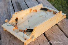 Flipper 2 joueurs jeu à la main en bois classique familial