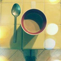 Caffelatte in my Paris mug!! #fromwhereistand