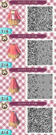 Cute prim outfit. qr codes.