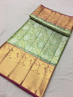 Kanjivaram Sarees Silk, Brocade Saree, Organza Saree, Pure Silk Sarees, Cotton Saree, Kanjipuram Saree, Saree Dress, Salwar Kameez Neck Designs, Saree Blouse Designs
