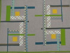 (7) Name: 'Quilting : Stained Glass Window Quilt