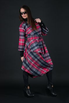 15aec59baad Clothing Winter Plus Size Loose Fit Cashmere Dress