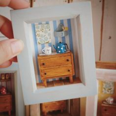 2018.05 Miniature Kitchen frame Dollhouse ♡ ♡ By Little Daisy