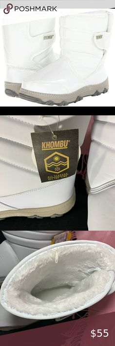 New in Box Khombu Women/'s Brown or Black Suede Lisa All Weather Winter Boots NIB
