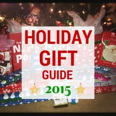 Holiday Gift Guide 2015 - As the holidays quickly approach, it is time to get started on our holiday #shopping. This year we are working hard to bring together a list of top #holiday #gift ideas for everyone on your list. From gifts for him, gifts for her, gifts for couples, and gifts for kids, to top gift lists by likes and hobbies, we have got you covered. Need affordable #stocking-stuffers? Look out for our lists of top stocking-stuffers under $10 as well! #HGG #HGG2015 #GiftIdeas
