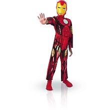 Pack 3 Disfarces - Iron Man + Spider-Man + Capitão América