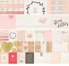 Crate Paper Kiss Kiss Tags