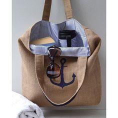 Jüt iple çanta yapılır da jüt kumaşı ile yapılmaz mı? Hazır yaz gelmeye yakınken örnek olması amacıyla ...