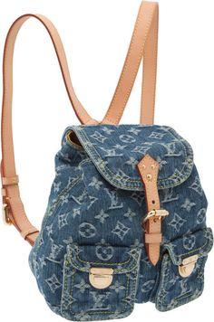 Only in my dreams - Louis Vuitton Denim Bag  ddd71c617f12c