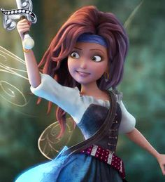 Meet Zarina and see the whole Disney Fairies crew in the new trailer for The Pirate Fairy!