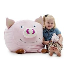 Penelope the Pig with Lil Buddy