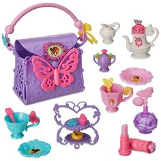 With a flair for the extraordinaire, this tea party set inspired by Disney Junior's Fancy Nancy, is simply magnifique. With 18 components featuring Fancy Nancy's signature styling, tea time has never been more sublime! Little Girl Toys, Toys For Girls, 3rd Birthday Parties, Birthday Wishes, Barbie Doll Set, Tea Party Setting, Fantasias Halloween, Fancy Nancy, Disney Junior