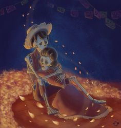 "*Coco Spoilers* Loved, loved, loved Pixar's ""Coco!"" It made my heart especially happy that Hector and Imelda both got the love of their lives back. :)"