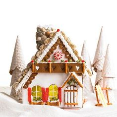 Carry on Christmas traditions with a sugar-bedazzled gingerbread house that would impress Grandma. Here's how to make gingerbread dough and decorate a gingerbread house.