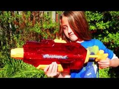 Cool Water Gun for Summer 2016 Review Banzai Blast Force - YouTube