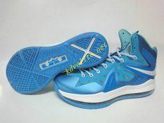 Nike LeBron 10 PS Elite Blue Diamond