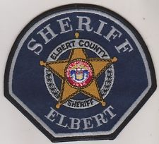 Elbert County CO Sheriff patch