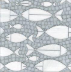 Erin Adams Designs; New Ravena floating fish