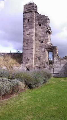 Tutbury Castle ~ a largely ruined medieval castle in Staffordshire, England