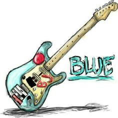 Blue i want to buy a new guitar so i can replicate blue
