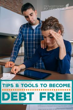 Become Debt Free this year with our top Tips & Tools! Use our Guide To Paying Off Debt to accomplish your dream of living debt free with ease! Dave Ramsey, Budgeting Finances, Budgeting Tips, Financial Binder, Financial Planning, Debt Free Living, Paying Off Student Loans, Tax Refund, Get Out Of Debt