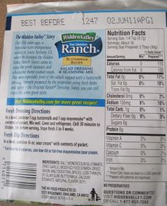 Luscious Low Carb: Low Carb Ranch