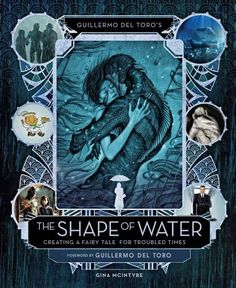 "Offical cover for THE SHAPE OF WATER ""making of"" book. Hitting shelves Dec. 19th."