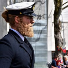 This Naval Officer Is An Instagram Sensation Due To His Dashing Looks And Luscious Locks
