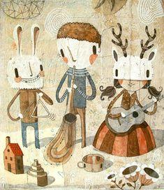CHILDREN'S ILLUSTRATION, Gustavo Aimar de Argentina