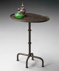 Love this Oval Pedestal Table by Butler Specialty Company on #zulily! #zulilyfinds