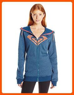Roxy SNOW Junior's Meadow Fleece Jacket, Legion Blue, XS - All about women (*Amazon Partner-Link)
