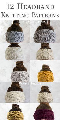 The 12 Days of Thankfulness Headband Knitting Patterns {Plus 2 exclusive headband patterns plus 14 exclusive video tutor. - The 12 Days of Thankfulness Headband Knitting Patterns {Plus 2 exclusive headband patterns plus 14 exclusive video tutorials} - Knitting Patterns Free, Free Knitting, Baby Knitting, Crochet Patterns, Baby Patterns, Knitting Yarn Diy, Knitting Scarves, Start Knitting, Pattern Sewing