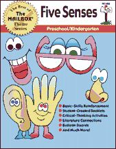 Five Senses Theme Book (Preschool/Kindergarten), $5.57 - Save time and energy planning thematic units with this comprehensive teacher resource. Included in this book are units, single ideas to extend a unit, and a variety of reproducible activities. Use these activities to develop your own complete unit or simply to enhance your current lesson plans. You're sure to find everything you need for active learning fun!
