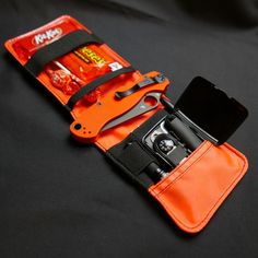 Micro Kit, the smallest nylon pocket organizer and EDC pouch made in the USA Global Knife Set, Global Knives, Best Camping Gear, Hiking Gear, Survival Prepping, Survival Gear, Halloween Run, Edc Wallet, Edc Gadgets