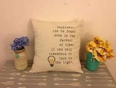 Dumbledore Quote Pillow, Throw Pillows, Quote Pillow, Decorative Throw Pillows, Harry Potter Pillow, burlap pillows by AlchemyHomeDecor on Etsy https://www.etsy.com/listing/205346675/dumbledore-quote-pillow-throw-pillows