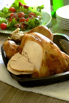Roast Turkey with Pork, Sage & Apple Stuffing: a fabulous festive recipe for your Christmas table. #FestiveFood