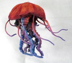 Jellyfish by FeltedChicken, via Flickr