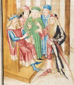 Diebold Schilling, Amtliche Berner Chronik, Bd. 3 Bern · 1478-1483 Mss.h.h.I.3  Folio 135