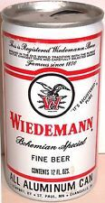 Wiedemann Bohemian Special Fine Beer empty 12 oz old 1970s can pull tab Heileman