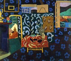 Still Life with Aubergines, 1911 by Henri Matisse #matisse #paintings #art