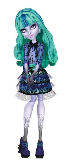 twyla 3D 13 wishes, Monster High, she's beautiful!