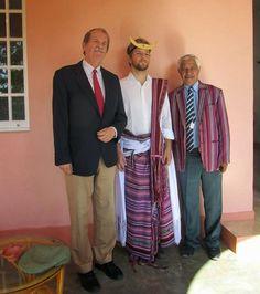 Manuel Beninger: Recepção da Família Real Portuguesa em Baucau, Tim...