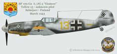 Luftwaffe Profiles: JG 5 Gustav Profiles