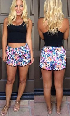 Do you believe that we just happen to have the shorts that you are looking for? So we literally couldn't wait to show you this beauty.More surprise at OASAP!
