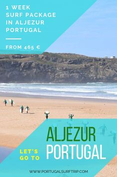 1 WEEK SURF PACKAGE IN ALJEZUR   PORTUGAL  what is included: ~ 7 nights accommodation with breakfast  ~ 5 surf lessons with certified local instructors  ~ surf board & wetsuit  ~ beach transfer to the best surf spot ~ bed linens & towel  ~ Wi-Fi #surfing #in #aljezur #portugal #surf #package #learnHowToSurf #west #coast #atlantic #ocean #surfHoliday #travel & #have #active #holiday #with #portugalsurftrip Best Surfing Spots, Portugal Holidays, Surf Trip, Surf Board, Yoga Retreat, Atlantic Ocean, Bed Linens, West Coast, Wi Fi
