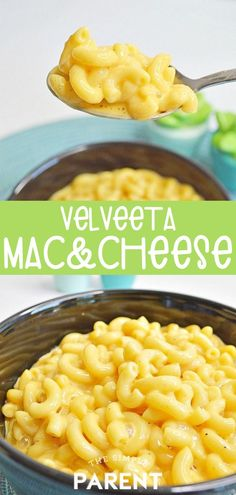 If your family loves macaroni and cheese, try this creamy, cheesy recipe made wi.If your family loves macaroni and cheese, try this creamy, cheesy recipe made with Velveeta! Nothing melts up quite the same way! Add in a protein or vegetable Mac And Cheese Recipe Baked Velveeta, Velveeta Recipes, Cheesy Pasta Recipes, Baked Mac And Cheese Recipe, Creamy Macaroni And Cheese, Macaroni Recipes, Mac And Cheese Homemade, Mac And Cheese Recipe For A Crowd, Velveta Cheese Recipes