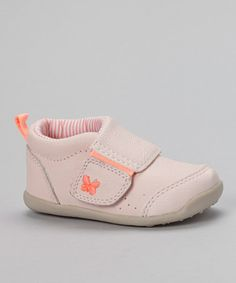 Look at this #zulilyfind! Light Pink Eve Every Step Stage 3 Ankle Boot by Carter's #zulilyfinds