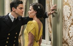 Dominic Cooper (left) and Lara Pulver (right) star as Ian Fleming and his lover Anne. Lara Pulver, Dominic Cooper, The Best Revenge, Treat People, Movie Costumes, Great Movies, Mad Men, Dream Dress, Movie Tv